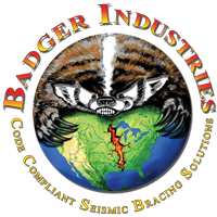 Badger Industries Seismic Bracing Logo