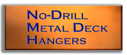 No Drill Metal Deck Hangers